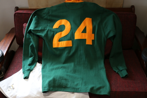 Apparel 1995 Rwc Signed Springbok Rugby Jersey Was Listed For R15