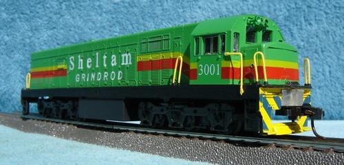 Locomotives - Frateschi HO gauge Diesel Locomotive - Dummy was sold