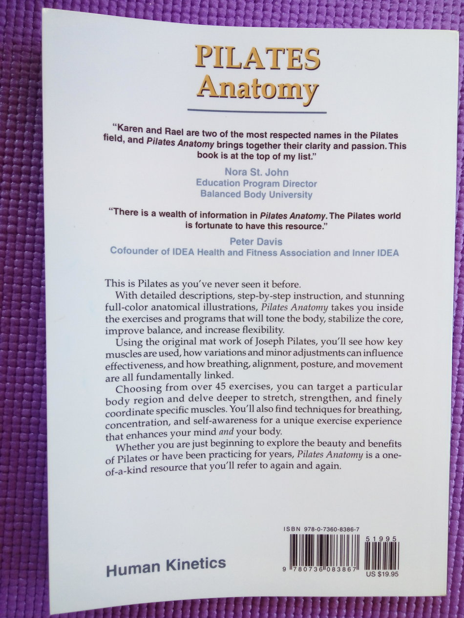 Health, Mind & Body - Pilates Anatomy by Rael Isacowitz was sold for ...