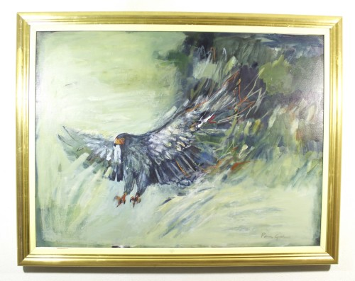 Paintings - Pam Guhrs - Eagle in flight - Investment art! A true