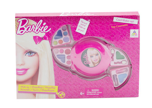 Barbie Kids Cosmetic set [ makeup Barbie makeup children ...  |Barbie Makeup Kit For Kids