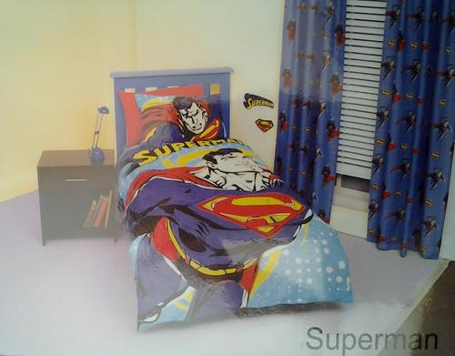 NEW! SUPERMAN BEDDING. GREAT FOR X-MAS!!!!! Was Sold For R35.00 On 9 Dec At 20