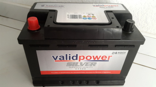 Other Parts Accessories Validpower Car Battery 658 Brand New