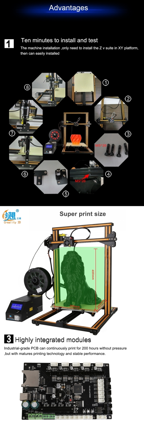Printers - Creality CR-10S 3D Printer was listed for R9,950 00 on 31