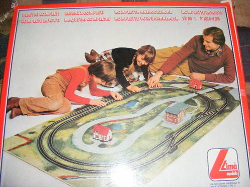 Railway - Lima HO Complete Layout set (Boxed) was sold for ...