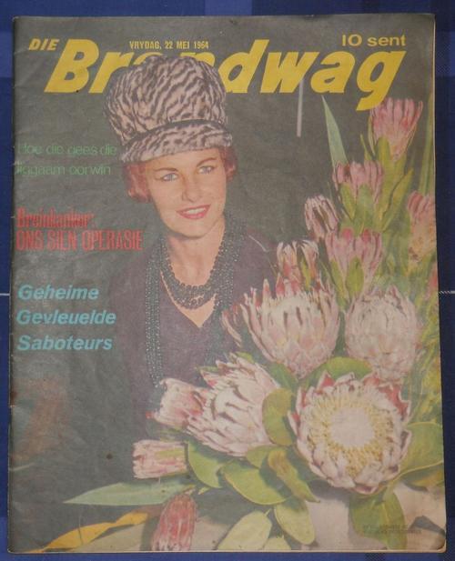 Magazines - ***DIE BRANDWAG TYDSKRIF*** VRYDAG 22 MEI 1964** was ...