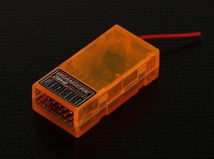 Aeroplanes - OrangeRx DSM2 Compatible 6Ch 2 4Ghz Receiver