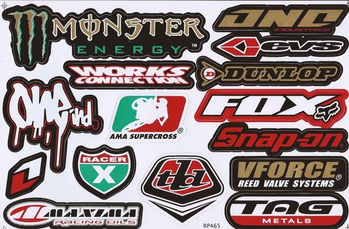 Other special offer vinyl stickers various logo 39 s - Fox and monster logo ...