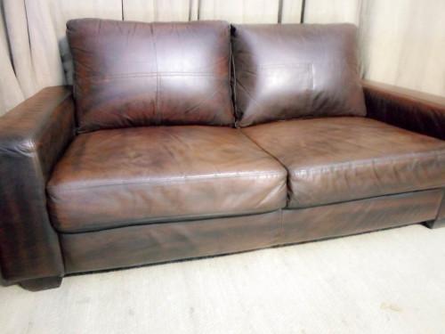 Couches Amp Chairs Genuine Leather Cori Craft Mala Sofa