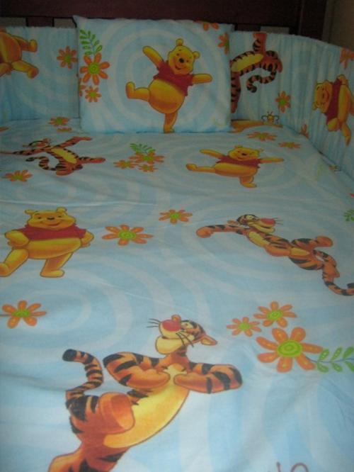Bedding Sets Winnie The Pooh Cot Set Blue Was Listed
