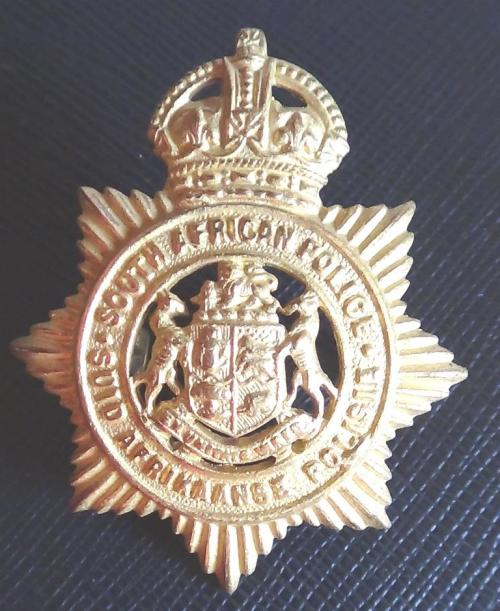 South African Police Helmet/Cap badge/Shoulder title collection