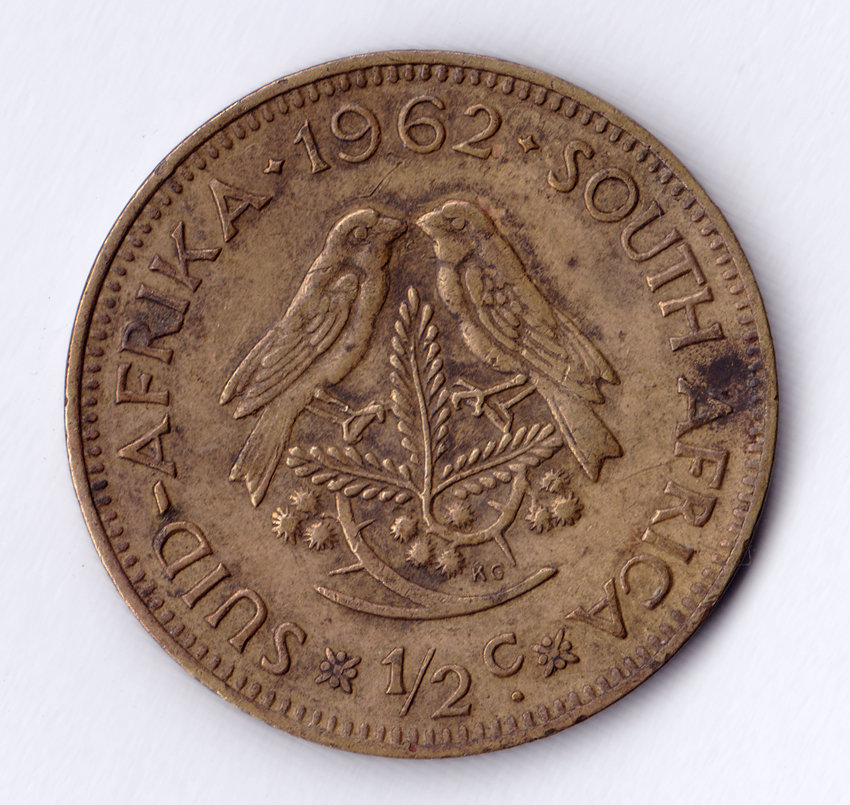 Half Cent 1962 South African Half Cent Coin Was Sold For