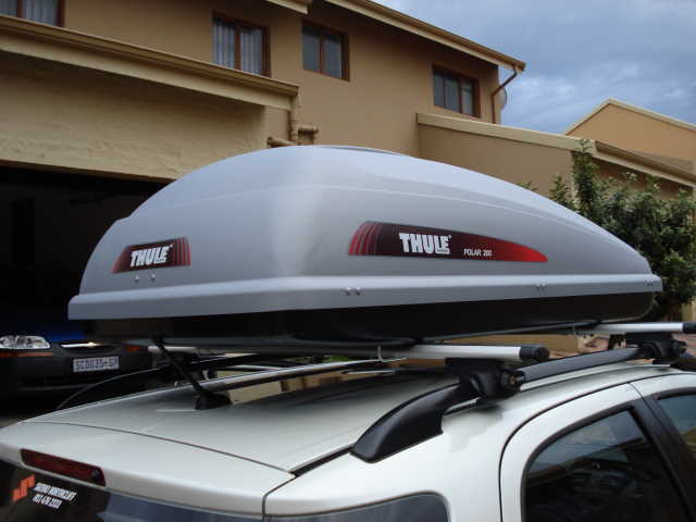 Other Parts Amp Accessories Thule Polar 200 Roof Box Was