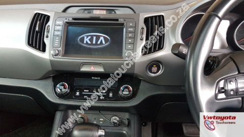 In-Car Entertainment - KIA Sportage (2011 2015) GPS DVD Navigation