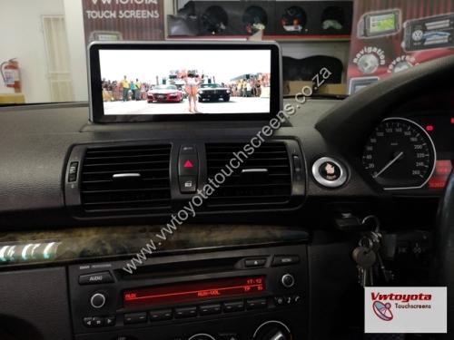 BMW 1 Series (E81 E82 E87 E88) Android 10 25 inch GPS Navigation Unit +  FREE REVERSE CAMERA