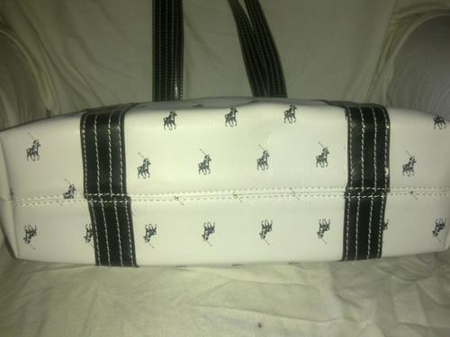 1e3040a7c0f Handbags & Bags - Polo Ladies Victor handbag White - Large was sold ...
