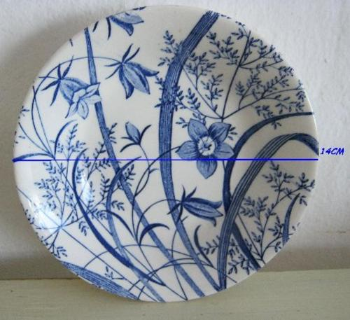English Porcelain - STAFFORDSHIRE UNDERGLAZE BOWLS - GENUINE HAND ...