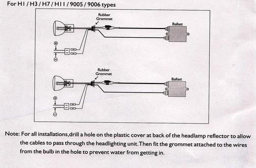 h7 bulb wiring   14 wiring diagram images