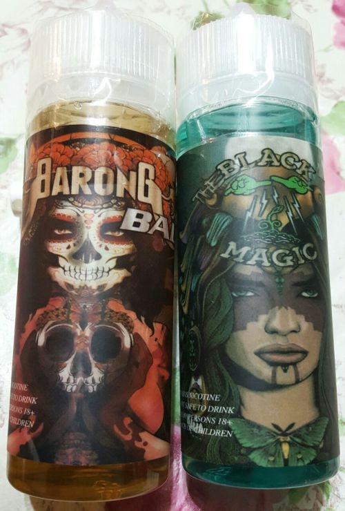 E-Liquids - THE BLACK MAGIC AND BARONG BALI COMBO PACK E