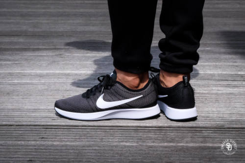 best sneakers c788d b3adf Original Mens Nike DUALTONE RACER BLACK WHITE DARK GREY 918227 002. UK Size  8. Taking inspiration from the iconic race-day flats from back in the day,  ...