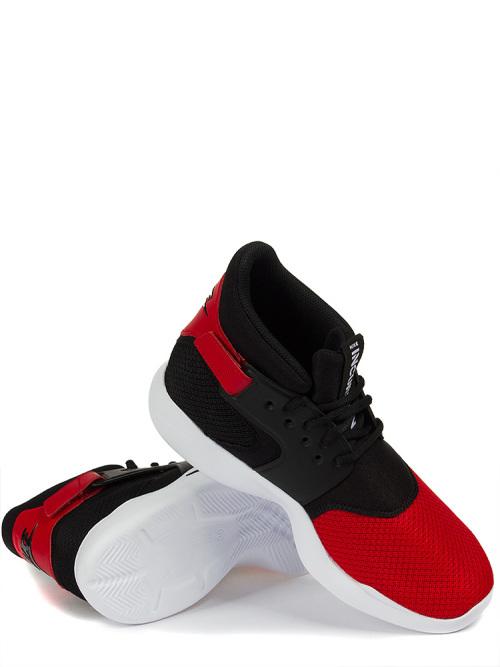 0f323dd3857e Original Mens Nike INCURSION MID UNIVERSITY RED BLACK 917541 600. UK Size 8  (SA 8)