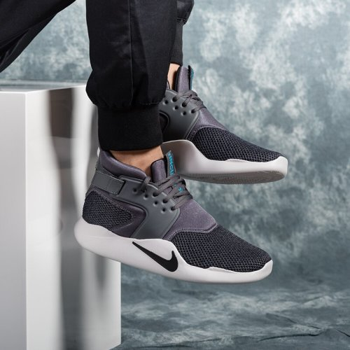 9544ef0816fe Original Mens Nike INCURSION MID SE Dark Grey Black Grey 916764 001. UK  Size 11 (SA 11)