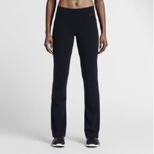 433e1c7a980d Nike Women s Legend Skinny Fit Yoga Training Pants Size – Small Color –  Black Style  871810-010 Polyester Spandex Medium rise Pull-on styling with  waistband ...