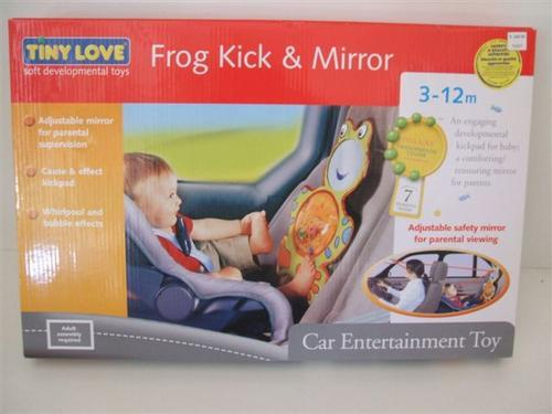 Accessories - Tiny Love Frog & Kick mirror – Car entertainment toy ...