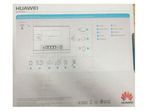 Wireless Routers - HUAWEI CPE B315 4G LTE Router + Battery