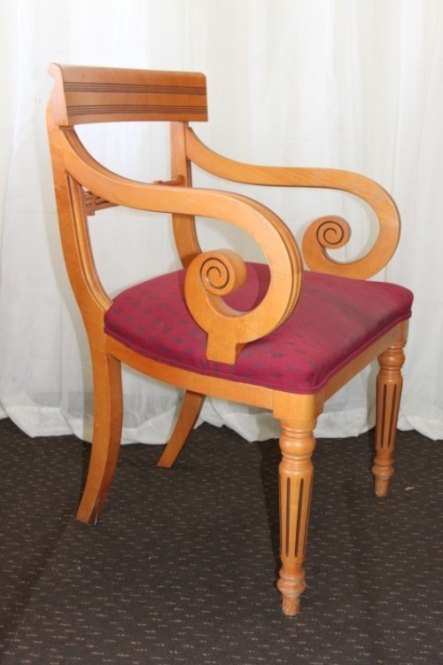 Gordman Accent Chairs.A Superb Original Gordon Fraser Yew Wood Occasional Office Chair Stunner Rs17