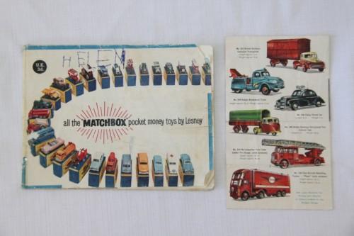Vintage Toys - A lovely antique Matchbox Collectors Roadway series