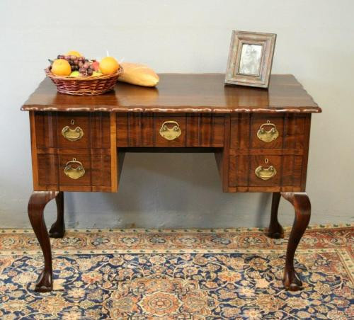 Desks A Fantastic Vintage Solid Imbuia Ball Claw Knee Hole