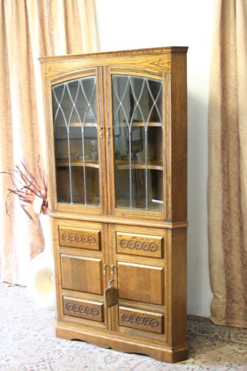 Corner Display Cabinet Glass Doors The Cupboard For Your Home