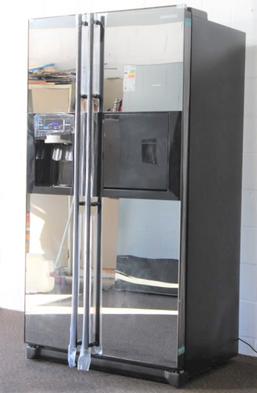 Fridges Freezers Rs17 Samsung Mirror Finish Model Rs21hfcmr