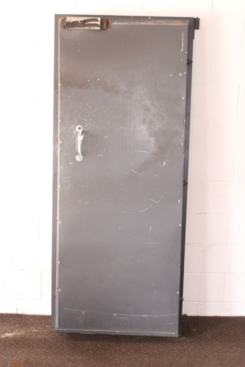 A solidly made steel strongroom/ vault security door - perfect for office  or home installation