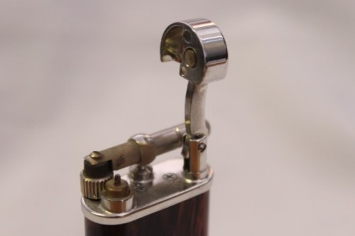 Smoking Accessories - A stylish original (brown marble) Peterson