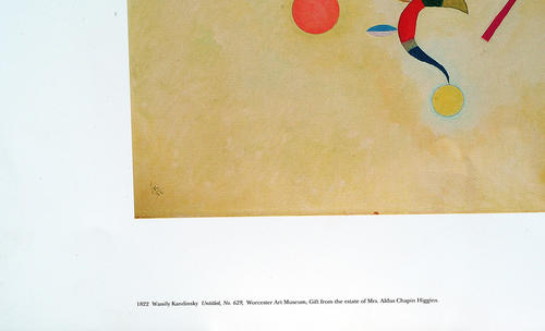 Udskrifter - Wassily Kandinsky Print-B1822 På Papiret-9911