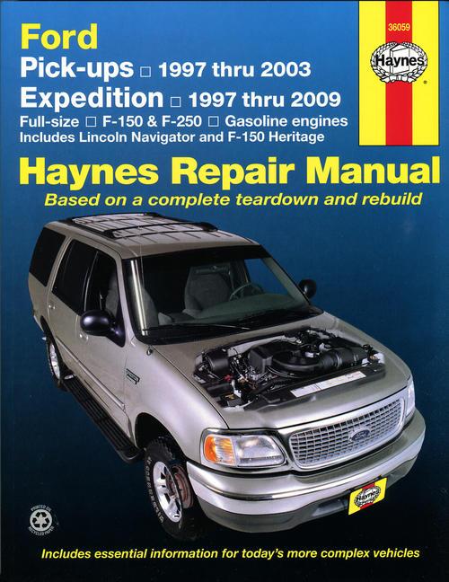 Haynes on 1997 Ford F 150 Fuel Filter Location