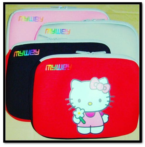 Cases   Bags - Red Hello Kitty Sleeve, fits laptops up to 14
