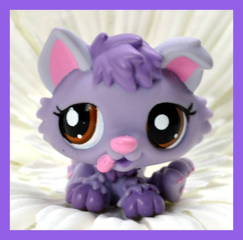 Other Collectable Toys Rare Littlest Pet Shop Purple