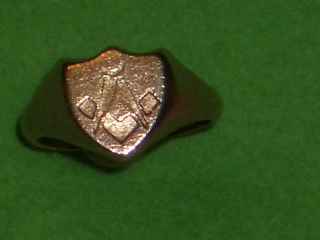 Rings - MASONIC Freemason Ring of 1880 (Genuine Antique) was sold