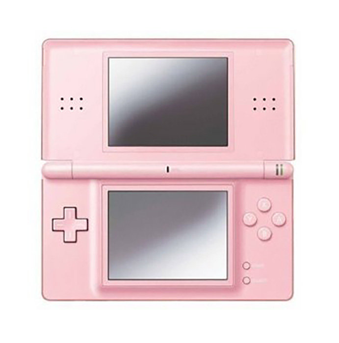 consoles nintendo ds lite pink console with 222 nds games bundle brand new boxed bid to. Black Bedroom Furniture Sets. Home Design Ideas