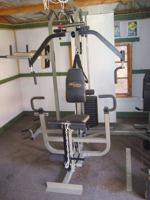 Home gyms trojan meridian gym was sold for r
