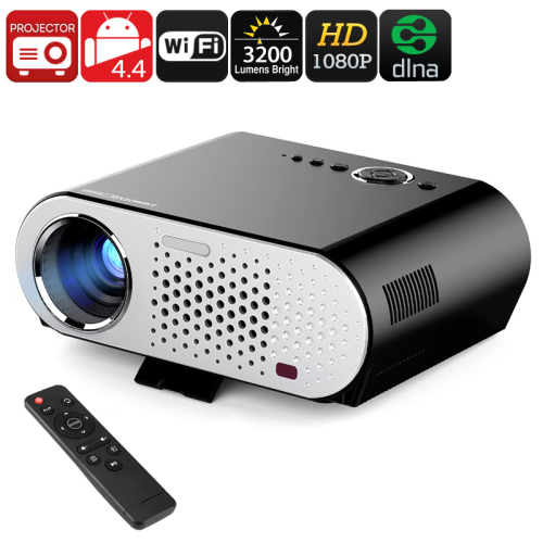 Morroto S2 Led Hd Projector 3500 Lumens Beamer 1280 800: Android, Wi-Fi, DLNA