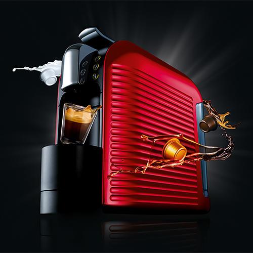 Tea & Coffee Makers - Espresto Wave Red Coffee Machine ...