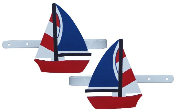 Other Nursery Nautical Sailing Boat Curtain Tiebacks Was