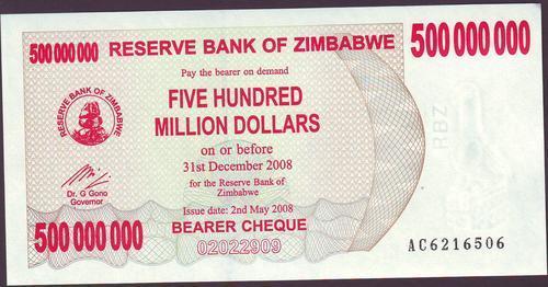 Five Hundred Million