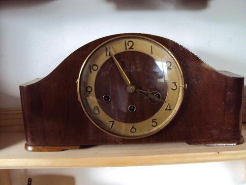 Mantel Clocks German Muller Schlenker Mantle Clock Was