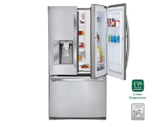 fridges freezers lg french door door in door. Black Bedroom Furniture Sets. Home Design Ideas