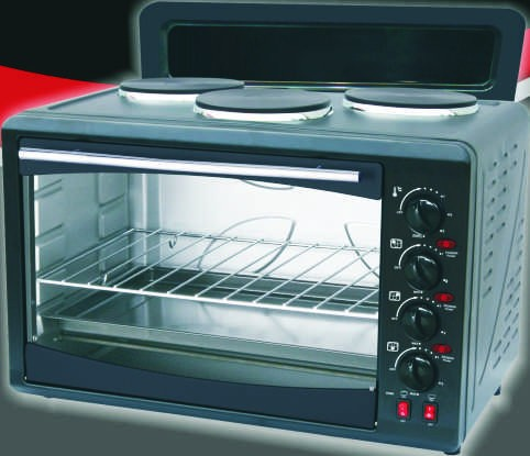 Hobs Stoves Amp Ovens Sunbeam 45l 3 Plate Compact Oven